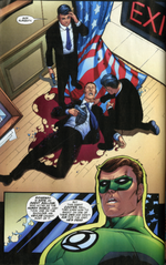Green Lantern talks like such a tool that it makes me want to hit him