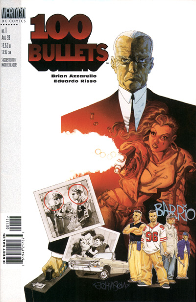 100 Bullets issue 1 cover art by dave johnson