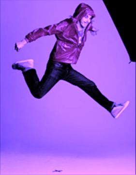 Jump you purple freak