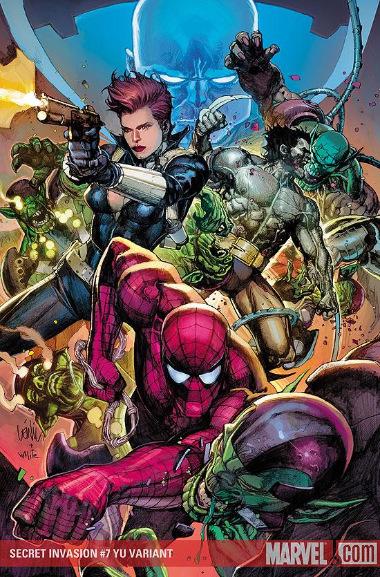 Secret Invasion # 7 cover