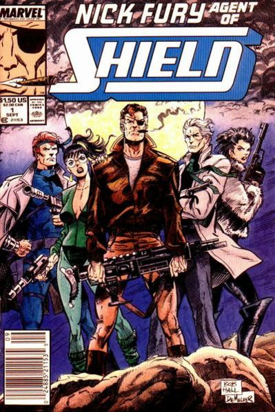 Nick Fury Agent of Shield vol 3 # 1 cover