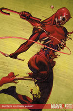 Daredevil # 112 zombie cover