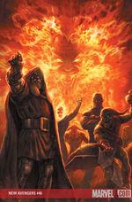 New Avengers # 46 cover