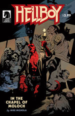 Hellboy In The Chapel Of Moloch cover