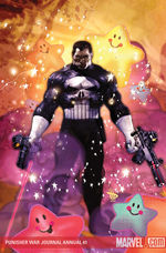 Punisher war journal annual # 1 cover