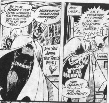 Batman kills dude