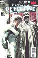 Detective comics # 851 cover