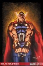 The Trial Of Thor # 1 cover