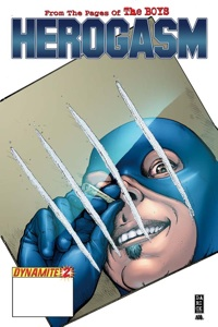 Herogasm #2 cover