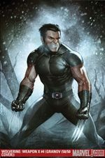 Wolverine Weapon X # 4 Cover