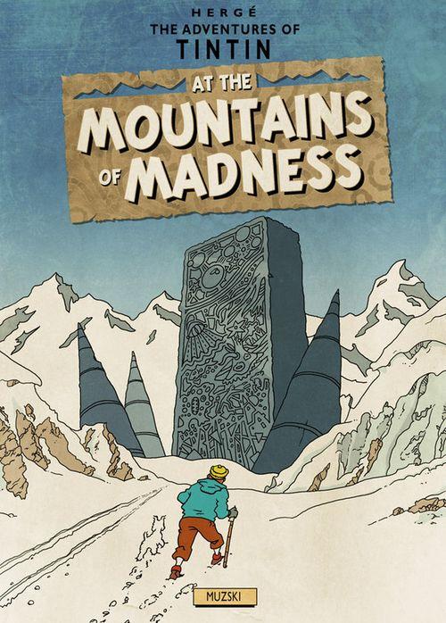 Tintin_at_the_mountains_by_muzski-d334iko