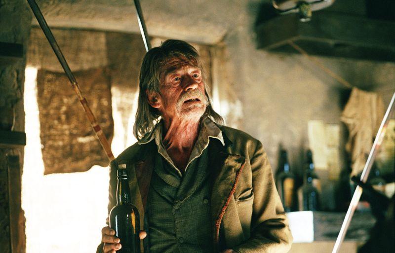 John Hurt as Jellon Lamb in John HillcoatÔÇÖs ÔÇÿThe PropositionÔÇÖ.7, photo by Kerry Brown_
