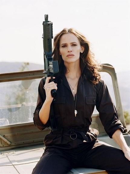 Jennifer Garner Guns
